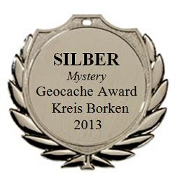 SILBER (Mystery) - Geocaching Award Kreis Borken 2013