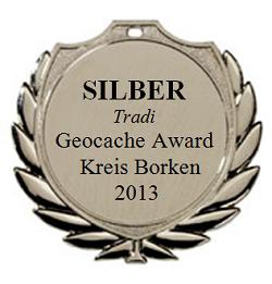 SILBER (Tradi) - Geocaching Award Kreis Borken 2013